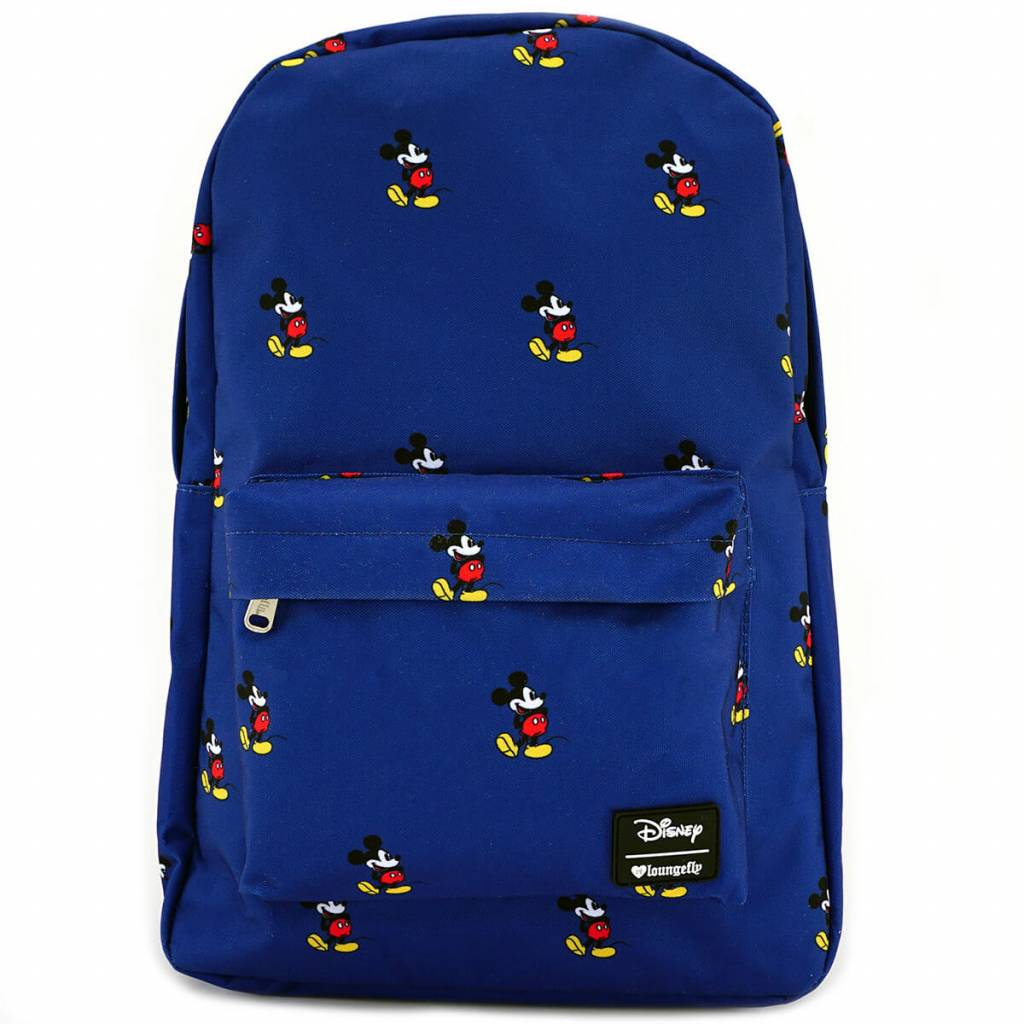 Loungefly Disney -Mickey AOP Backpack / Rugtas -Mickey Mouse